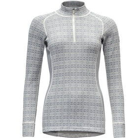 Devold Alnes Half-Zip Neck Shirt Damen grey